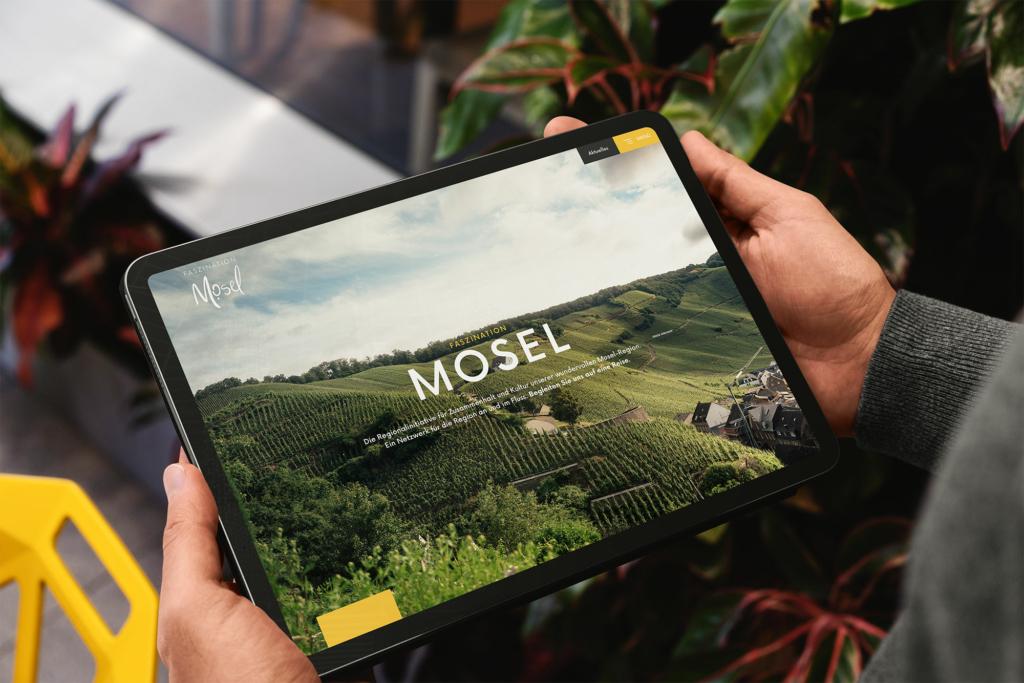 """Neue Homepage der Regionalinitiative """"Faszination Mosel"""""""